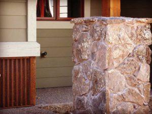 Versatile Mountain Home Porch