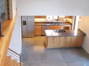 Contemporary Mountain Home Kitchen