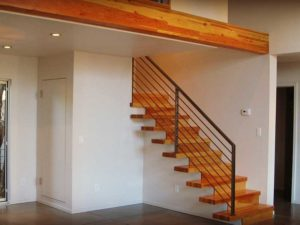 Contemporary Home Stairway