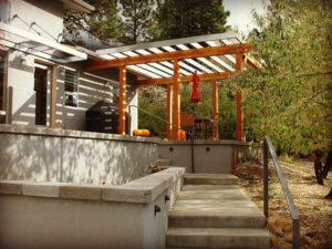 Contemporary Home Deck