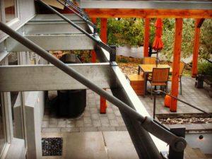 Contemporary Home Patio
