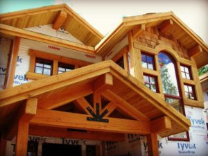 Luxury Mountain Home Woodwork