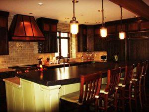Luxury Mountain Home Kitchen