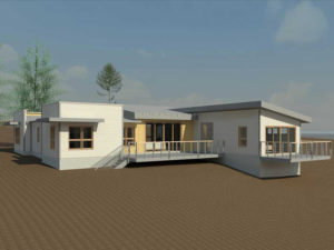 Contemporary Home Rendering